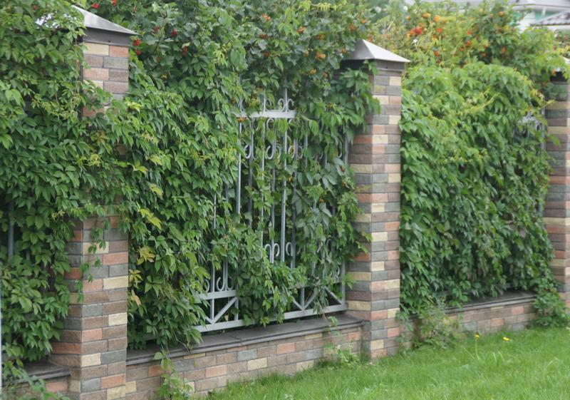 забор баварская кладка